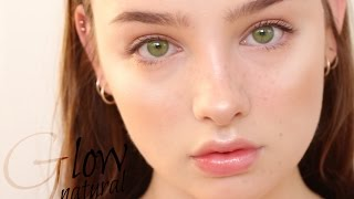 Natural Daily Glowy Makeup Tutorial | Sissel AB