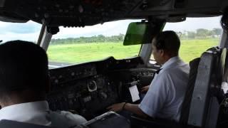 Biman Bangladesh DC10 Take off cockpit video!