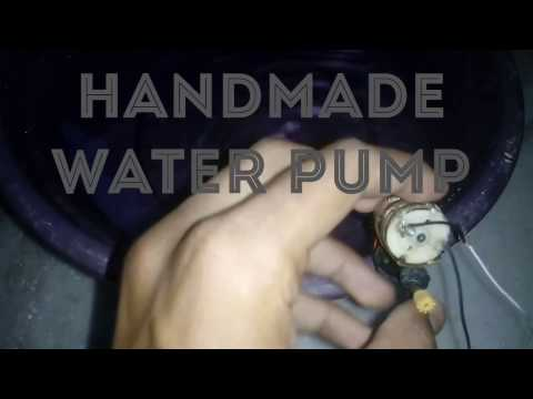 HOW to work the homemade small water pump part 2