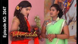 Manasu Mamata   14th August 2017  Full Episode No 2047   ETV Telugu