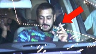ANGRY Salman Khan BREAKS NO SMOKING Yash Raj's Policy | SpotboyE