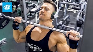 High-Volume Shoulder Workout For Mass | Abel Albonetti
