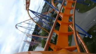 Behemoth Front Seat on-ride HD POV Canada's Wonderland