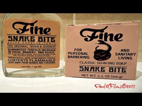 FINE Snake Bite Shave (Menthol)