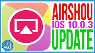 Airshou (& Vidyo) iOS 10.0.3 Update - Still Working? iPhone 7 and iPhone 7+ Only