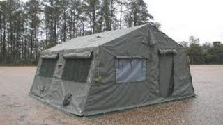 New Camouflage Green Tent on GovLiquidation.com