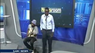 Makhafula Vilakazi live at the sabc