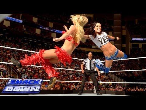 Xxx Mp4 The Bella Twins Vs Natalya Summer Rae SmackDown March 21 2014 3gp Sex