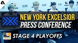 New York Excelsior Overwatch League Stage 4 Playoffs Press Conference