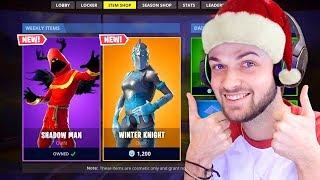 I got *NEW* CHRISTMAS 2018 Fortnite skins!