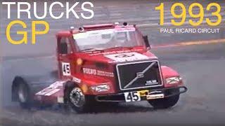 Grand Prix Camions du Castellet 1993 GP Compétition Course Trucks Race Circuit Paul Ricard Video