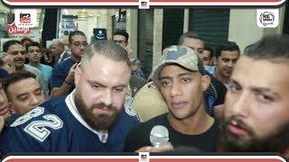 تزاحم شديد على محمد رمضان في العرض الخاص .. ورأي الجمهور في فيلم الديزل