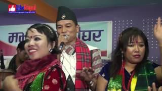 New Nepali Salaijo Lok Geet by Sagar Gurung & Maya Gurung