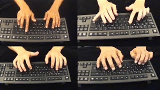 How we type: Movement Strategies and Performance in Everyday Typing - Aalto University Research