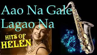 Aao Na Gale Lagao Na    Asha Bhosle    Mere Jeevan Saathi   Best Saxophone Instrumental   HD Quality
