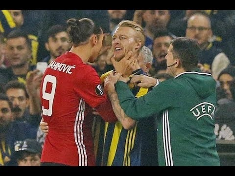 Zlatan Ibrahimovic - Best Fights & Angry Moments | 20162017 HD