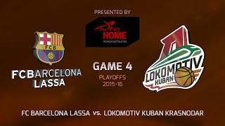 Highlights: FC Barcelona Lassa-Lokomotiv Kuban Krasnodar, Game-4