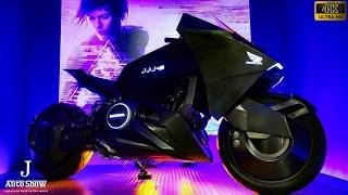 (4K)HONDA 2017 NM4 Vultus GHOST IN THE SHELL style ホンダ ゴースト・イン・ザ・シェル仕様のバイク NM4 - 大阪モーターサイクルショー2017