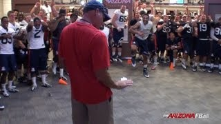2013 Arizona Football Camp Report - Dance Off
