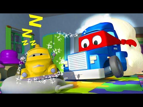 Doces sonhos ! com Carl o Super Caminhão na Cidade do Carro | Desenho animado para crianças