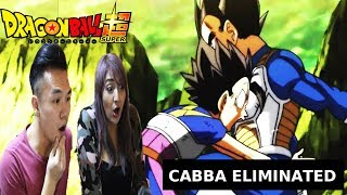 Dragon Ball Super 112 Cabba eliminated REACTION