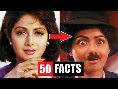 Xxx Mp4 50 Facts You Didn T Know About Sridevi 3gp Sex