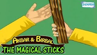 Akbar And Birbal - The Magical Sticks - Funny Animated Stories