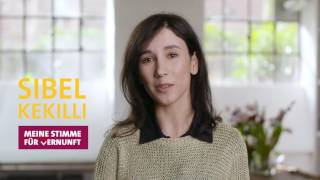 Sibel Kekilli - Meine Stimme für Vernunft