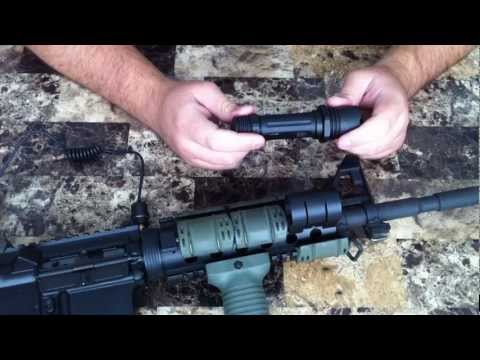 Tactical Flashlight Review UTG