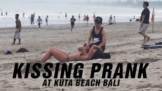 Kissing Prank at Kuta Beach Bali!