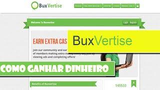 Como Ganhar Dinheiro na Internet com o BuxVertise