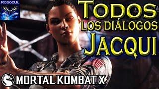 Todos los diálogos de Jacqui Briggs Mortal Kombat X: Belleza y rudeza equilibradas (Español Latino)