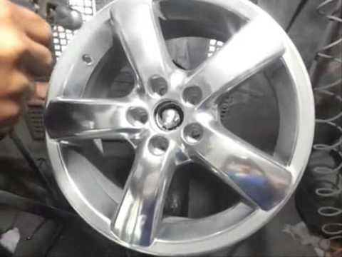 Como CROMAR as rodas do seu carro com acabamento perfeito FAÇA VOCÊ MESMO