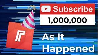 FlareTV 1 Million Subscribers - As It Happened [WARNING: LANGUAGE]