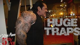 SHRUGS BEHIND THE BACK- HUGE TRAPS - Rich Piana