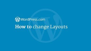 How to change Layouts