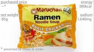 No.5065 Maruchan (USA) Ramen Noodle Soup, Roast Chicken Flavor