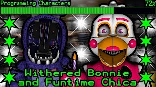 How will Withered Bonnie and Funtime Chica work in Ultimate Custom Night?