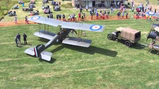 Stow Maries Great War Aerodrome fly-in