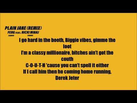 Xxx Mp4 A AP Ferg Plain Jane Ft Nicki Minaj Lyrics REMIX 3gp Sex