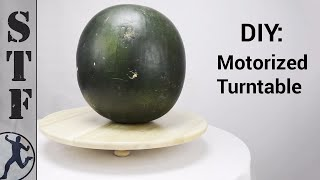 DIY: Motorized Turntable for $12
