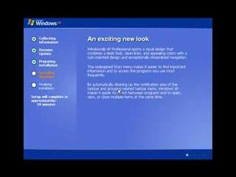 Windows XP - Video Tutorial