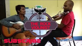 Hua hai aaj pehli baar violin guitar cover ( Sanam re) by Fortissimo - Unplugged Melodies