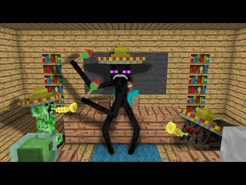 Monster School: Dancing - Minecraft Animation