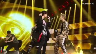 [720p] 130623 Henry - Trap ft. Super Junior's Kyuhyun @ SBS Inkigayo