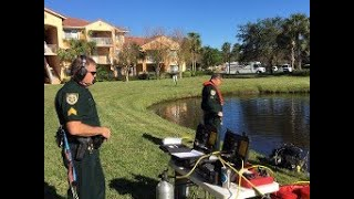 Video: SLCSO dive team finds possible weapon used in Port St. Lucie murder