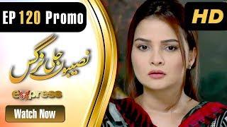 Drama   Naseebon Jali Nargis - Episode 120 Promo   Express Entertainment Dramas   Kiran Tabeer