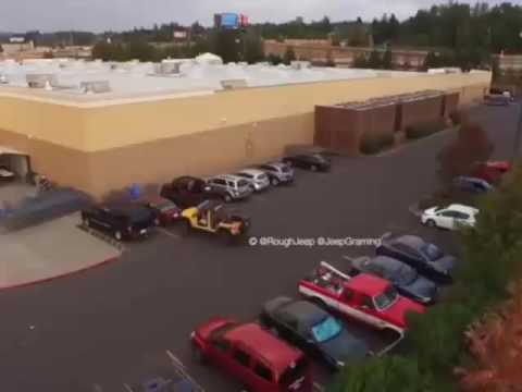 Don't steal Jeep's parking spot