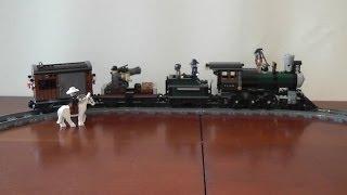 unboxing LEGO Lone Ranger 79111 Pościg za pociągiem rozpakowanie