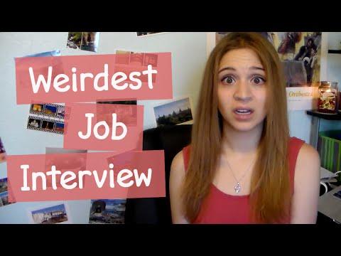 My Weirdest Job Interview